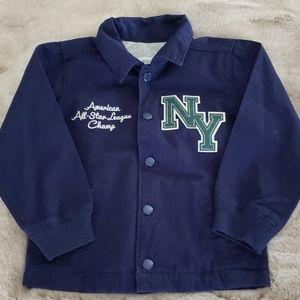 NWOT - Boys Carter's Lightweight Varsity Jacket